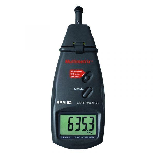 Tachymètre numérique, mesure de rotation avec ou sans contact