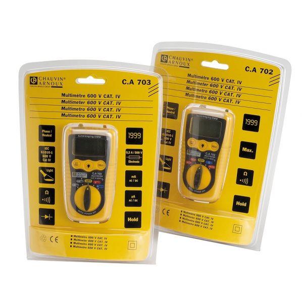 Multimétre numérique de poche