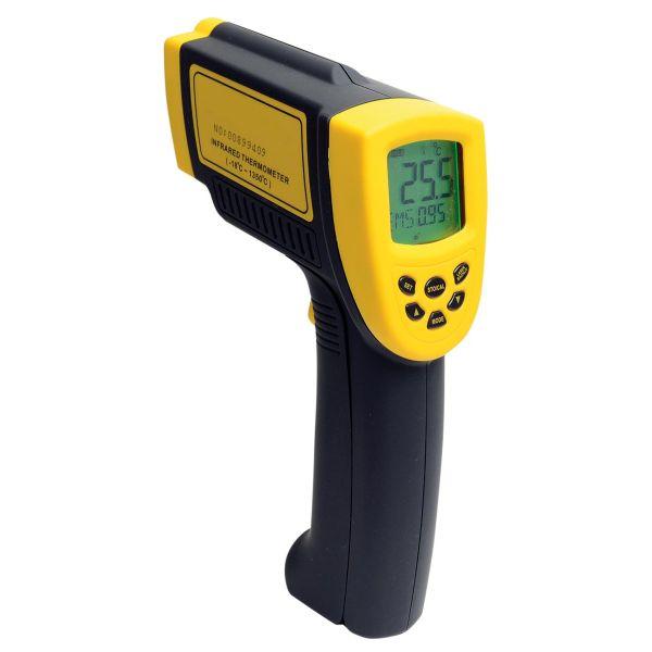 Thermomètre très précis à visée laser, mesure de -18° à +1350°C