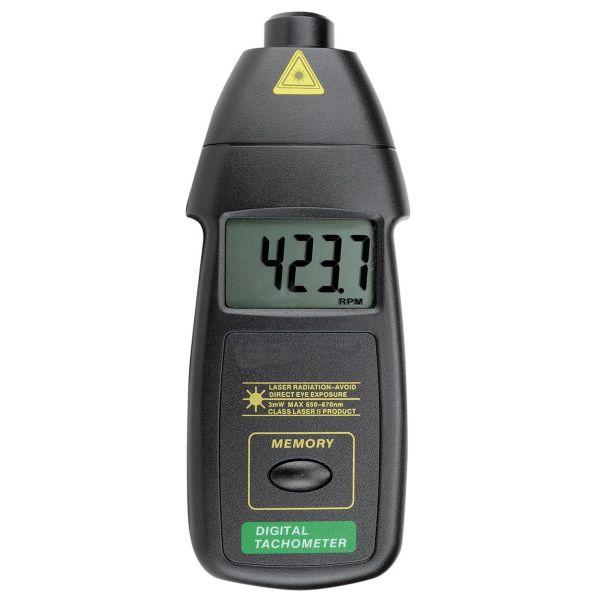 Tachymètre sans contact à visée laser, de 5 à 100 000 RPM