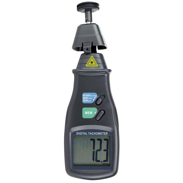 Tachymètre avec contact ou sans contact, de 0.5 à 20 000 tr/min
