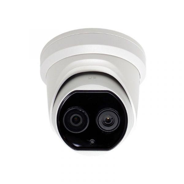 Caméra thermique tourelle pour la détection de fièvre, résolution 19200 pixels