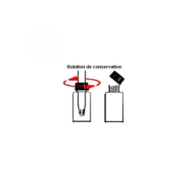 Sonde pH de pénétration pour PH-mètre 0820LM et 2201LM