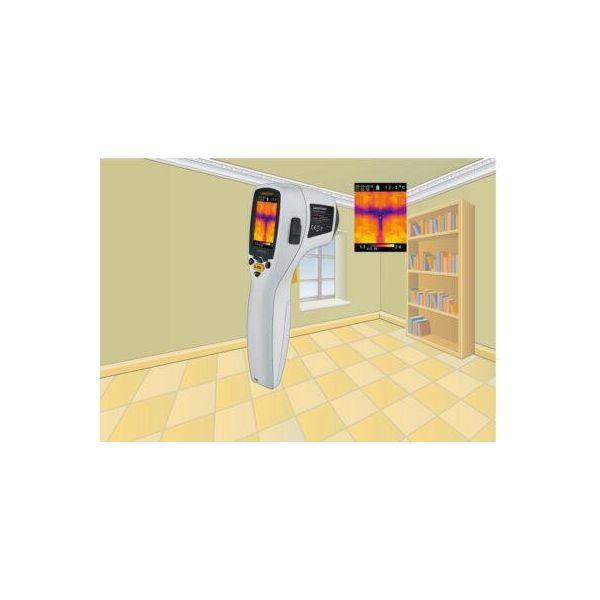 Thermomètre avec caméra format compact, mesure de -20° à +250°C