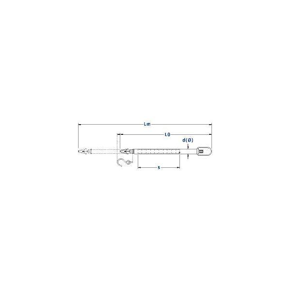 Balance à ressort, 10G , D:0.1G, grise, avec pince, Ligne Micro