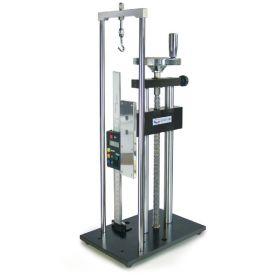 ,Banc d'essai manuel pour la mesure de force précise,, avec mesure de longueur,