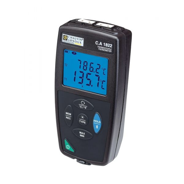 Thermomètre 2 voies thermocouple