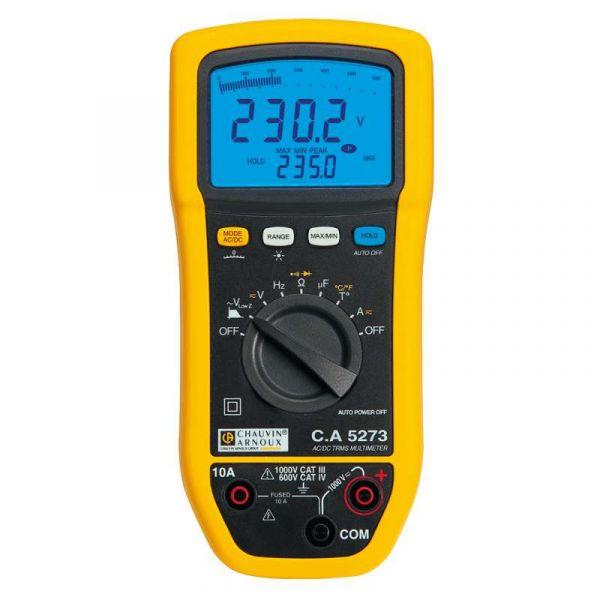 Multimètre numérique pour la maintenance électrique des installations