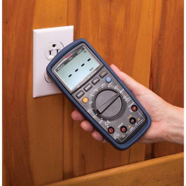 Multimètre numérique v.e.v. avec détecteur de tension sans contact