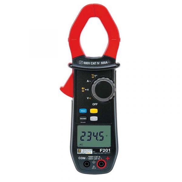 Pince mulltimètre - Applications Courant alternatif