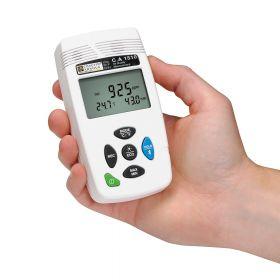 Enregistreur de température, humidité et CO2 avec affichage digital
