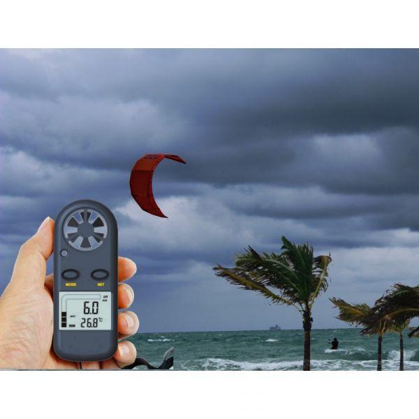 Anemomètre / Thermomètre digital de poche