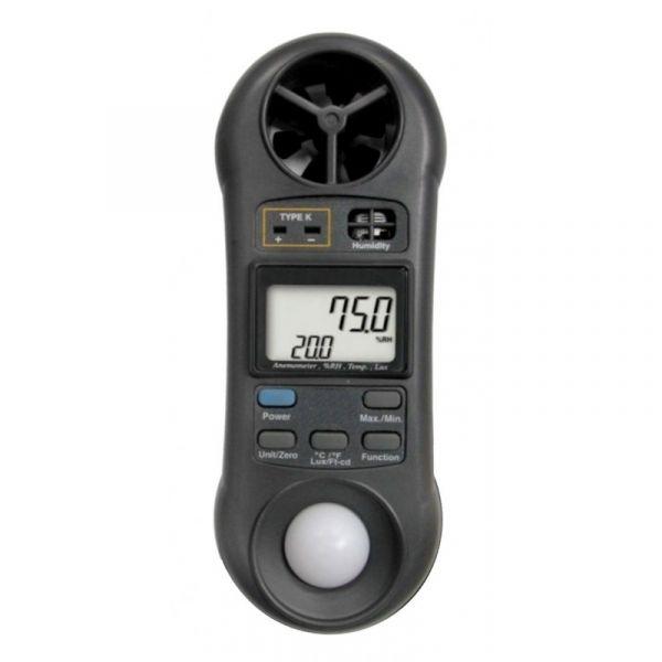 Thermomètre / Hygromètre / Anémomètre / Luxmètre
