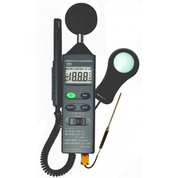 Thermomètre / Hygromètre / Sonomètre / Luxmètre