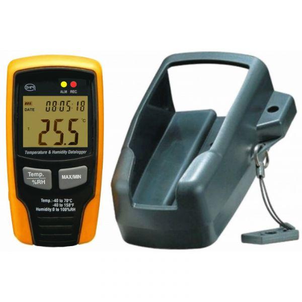 Enregistreur Thermomètre / Hygromètre autonome - USB - Avec affichage