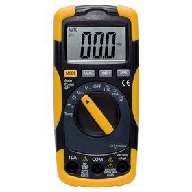 Multimètre digital - Calibre automatique