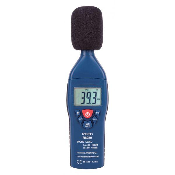 KIT de sonomètre R8050 et calibrateur R8090 avec étui de transport