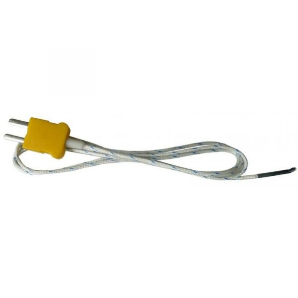 Enregistreur thermomètre 3 canaux type K + 1 sonde filaire type K