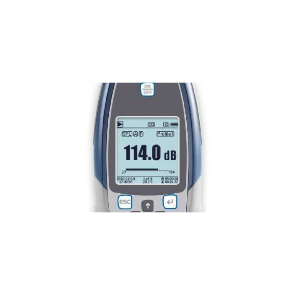 Sonomètre digital - Analyseur de spectre - Précision Classe 1